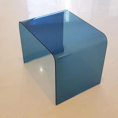 Малка масичка Square синя 2