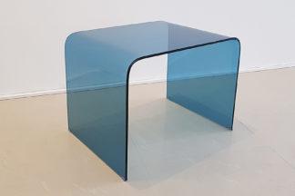 Холна маса стъкло 11 синя