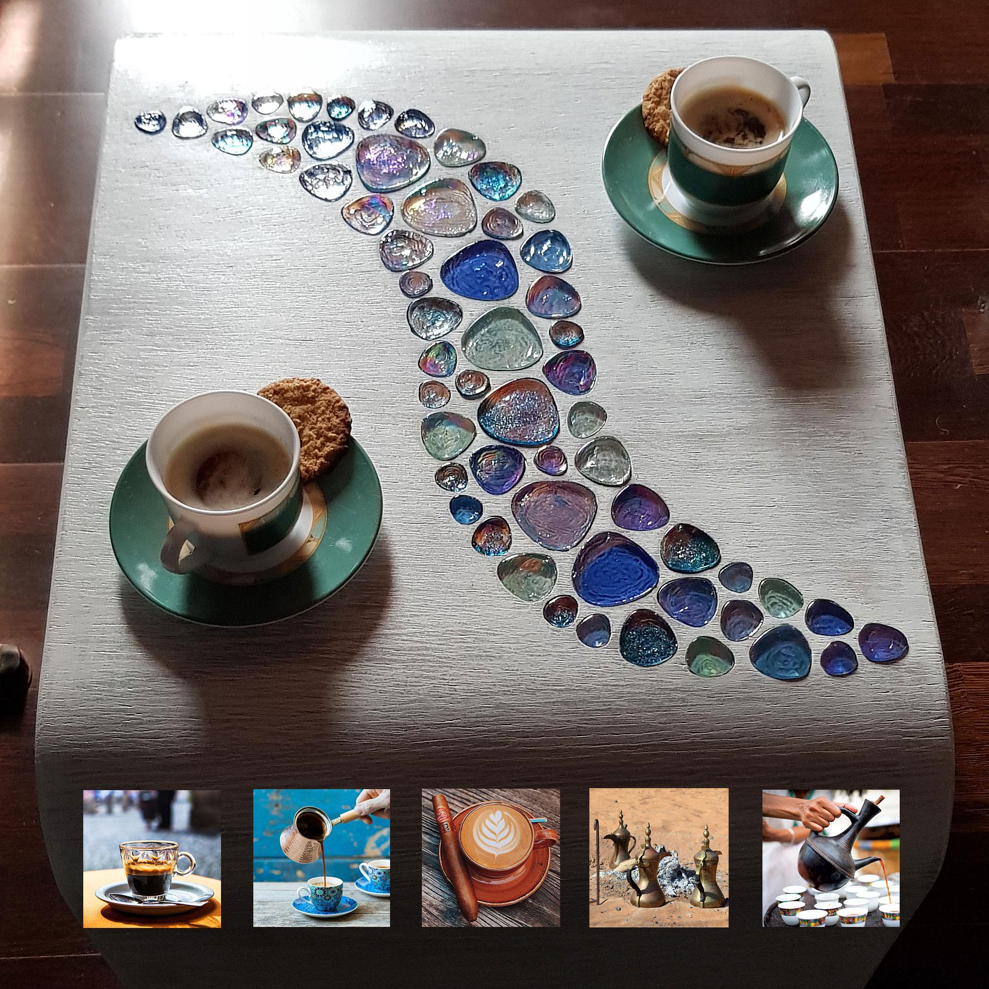 холна маса за кафе Рустик